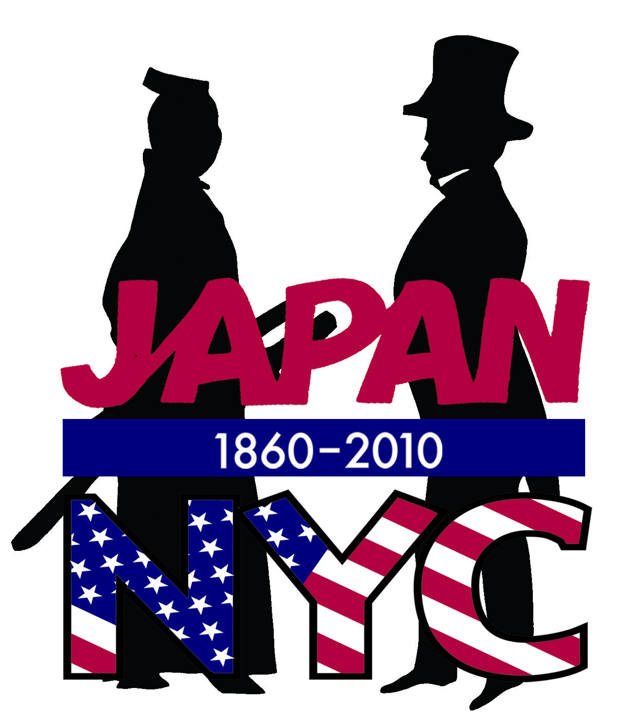 Logo design for Japan-NYC 150th Anniversary