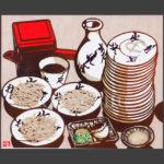 plates-of-buckwheat-noodle