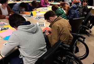 students workshop turned into student-&-teachers workshop (Batumi Arts State Teaching University)