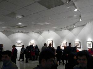 Iranian Artist Forumにて、展覧会