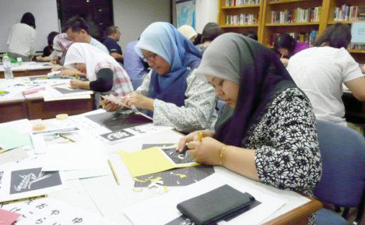 マレーシア・クアラルンプールでの、ワークショップ。