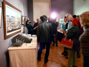 Feb 18 Opening Reception – numerous media interviews