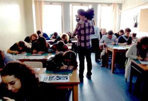 Workshop at Pera High School of Fine Arts