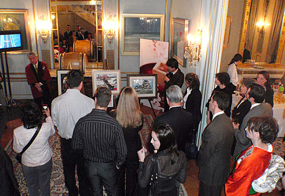 """""""Visit Japan"""" reception hosted by Consulate-General of Japan in NY."""